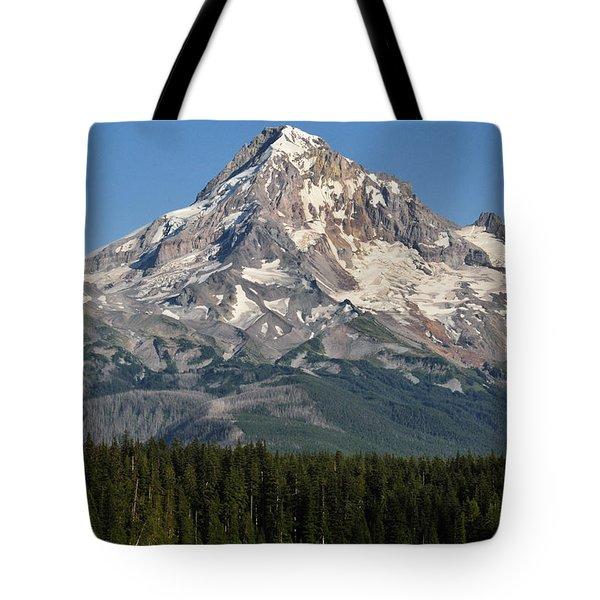 Mount Hood Above Lost Lake Tote Bag