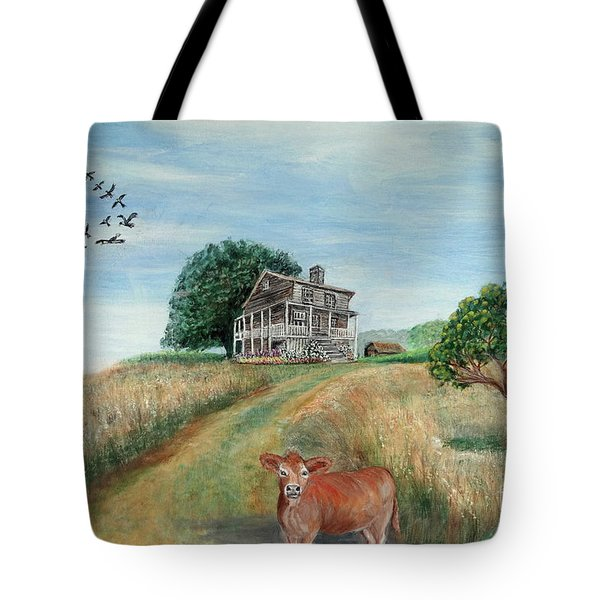 Mount Hope Plantation Tote Bag