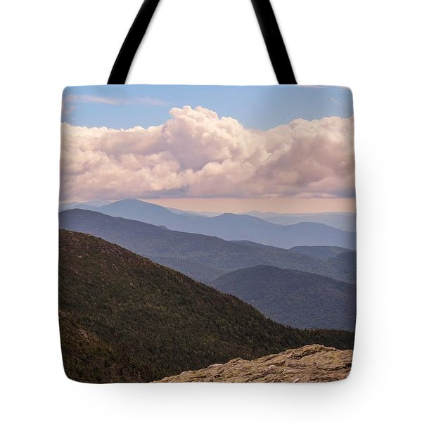 Mount Mansfield Vermont Tote Bag