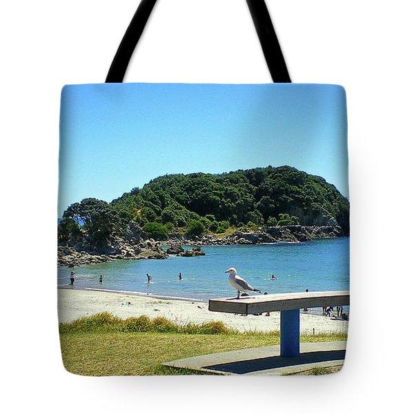 Mount Maunganui Beach 4 - Tauranga New Zealand Tote Bag