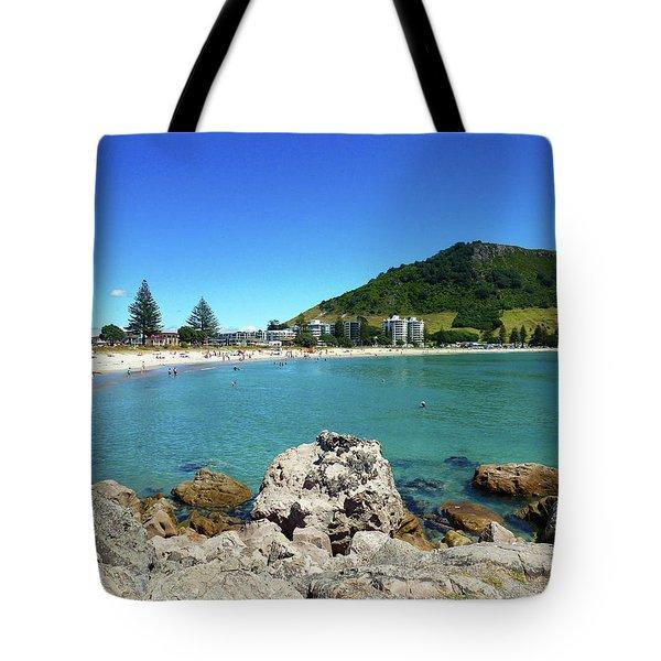 Mount Maunganui Beach 8 - Tauranga New Zealand Tote Bag