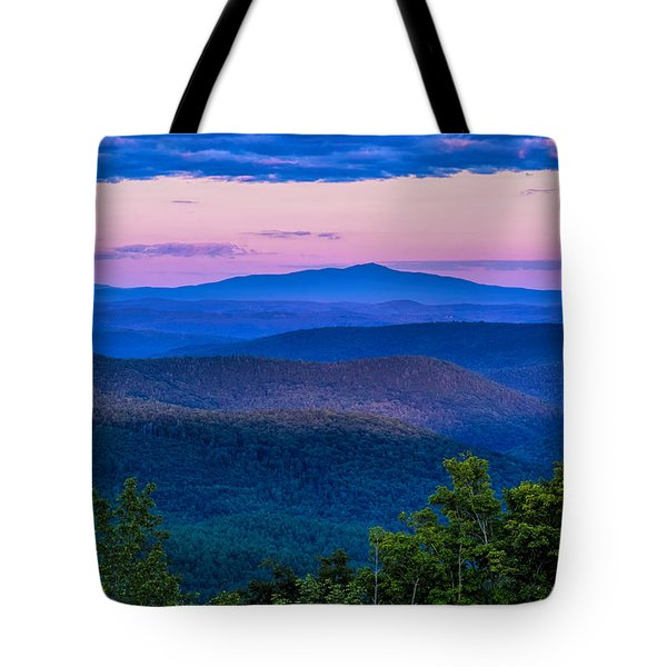 Tote Bag featuring the photograph Mount Monadnock From Vermont by Tom Singleton