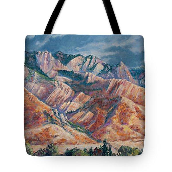 Mount Olympus In Autumn  Tote Bag