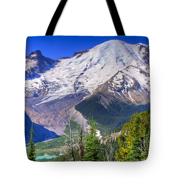 Mount Rainier IIi Tote Bag