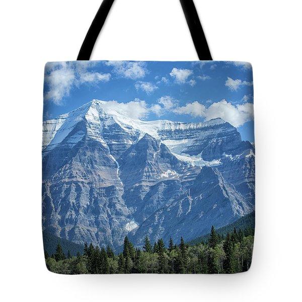 Mount Robson Tote Bag by Patricia Hofmeester