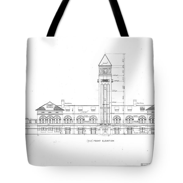 Mount Royal Station Tote Bag