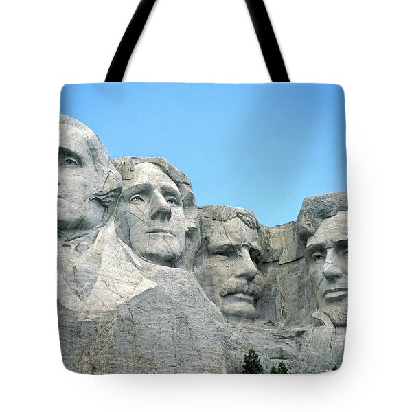 Mount Rushmore Tote Bag by American School