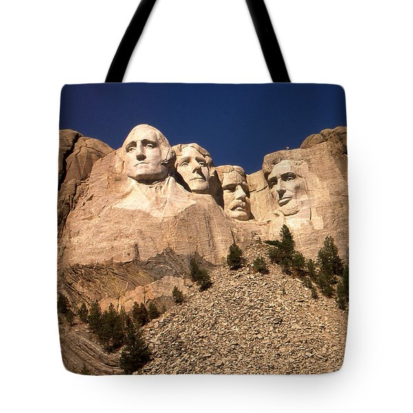 Mount Rushmore National Monument Tote Bag by Art America Gallery Peter Potter
