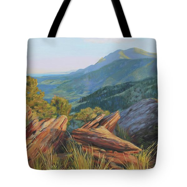 Mount Sanitas, Late Afternoon Tote Bag