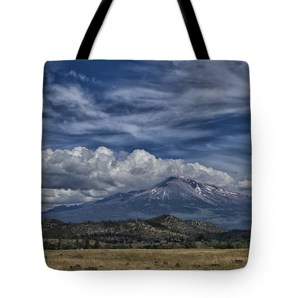 Mount Shasta 9946 Tote Bag by Tom Kelly