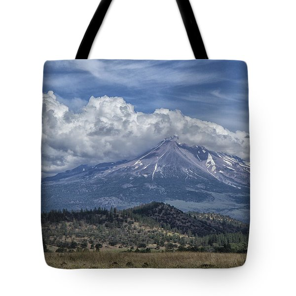 Mount Shasta 9950 Tote Bag by Tom Kelly