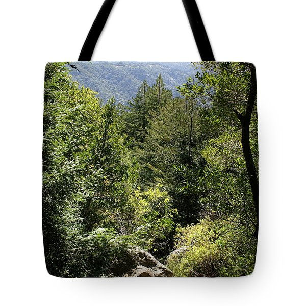 Mount Tamalpais Forest View Tote Bag