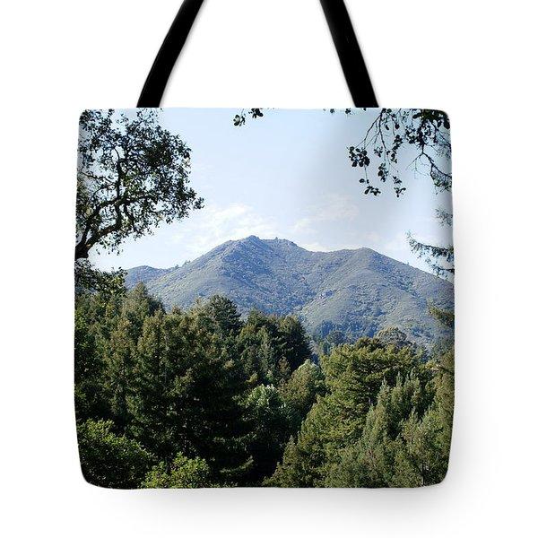 Mount Tamalpais From King Street 2 Tote Bag by Ben Upham III