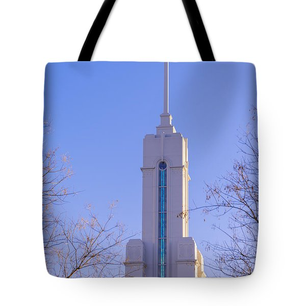 Mount Timpanogos Spire Tote Bag by Chad Dutson