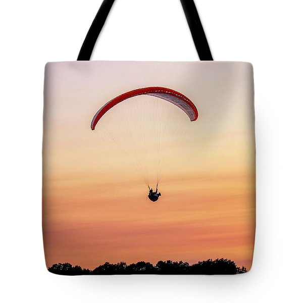 Mount Tom Parachute Tote Bag