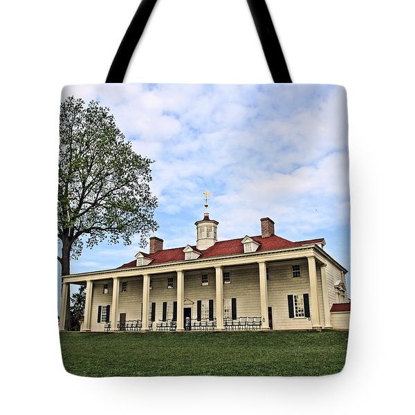 Mount Vernon Tote Bag