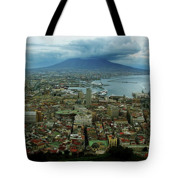 Mount Vesuvius Naples It Tote Bag