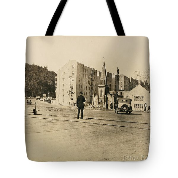 Tote Bag featuring the photograph Mount Washington Church  by Cole Thompson