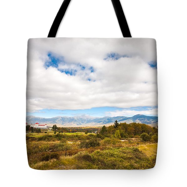 Mount Washington Hotel Tote Bag