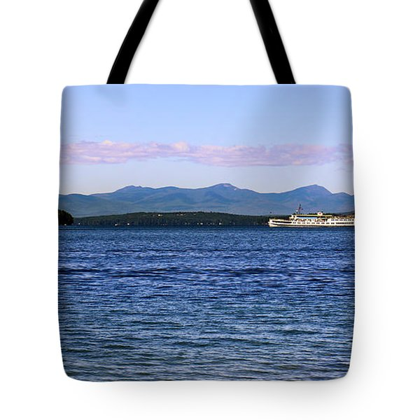 Mount Washington Tote Bag by Mim White