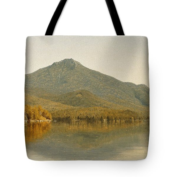 Mount Whiteface From Lake Placid Tote Bag