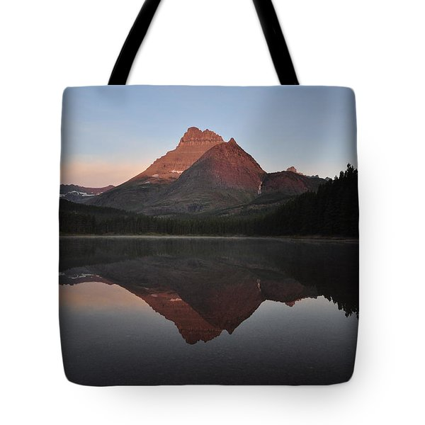 Mount Wilbur, Glacier National Park Tote Bag