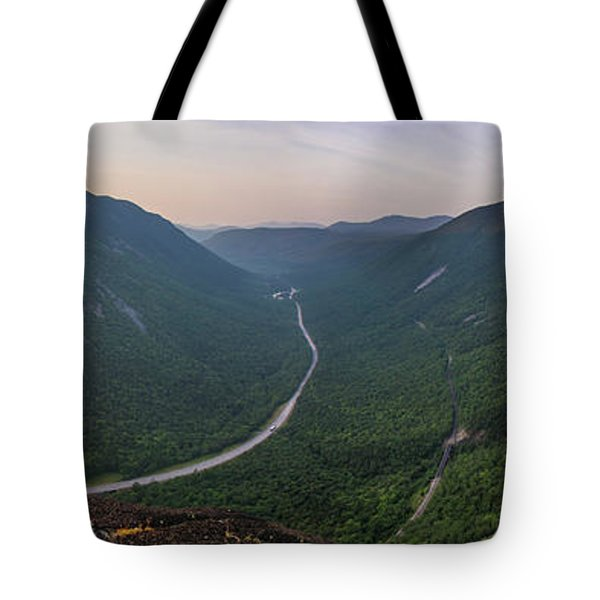 Mount Willard Sunrise Panorama Tote Bag