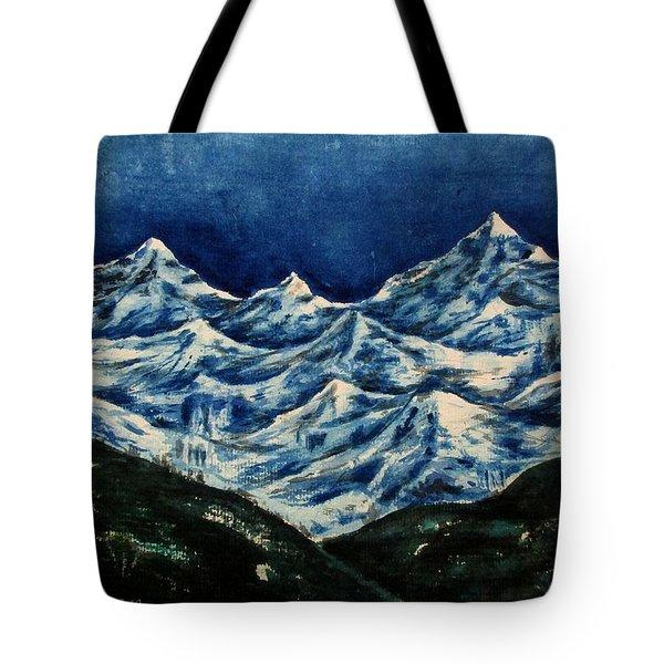 Mountain-2 Tote Bag