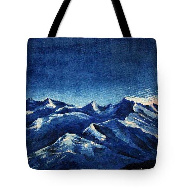 Mountain-4 Tote Bag