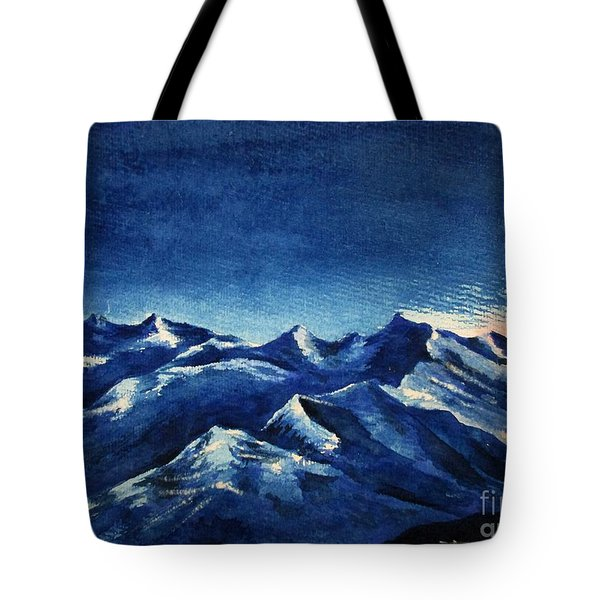 Mountain-4 Tote Bag
