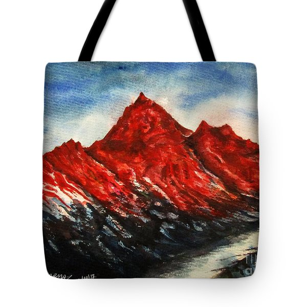 Mountain-7 Tote Bag