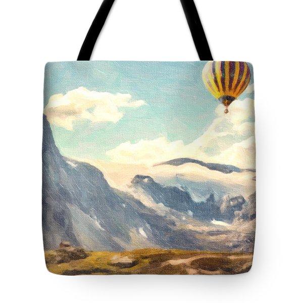 Mountain Air Balloons Tote Bag