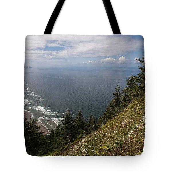 Mountain And Beach Tote Bag