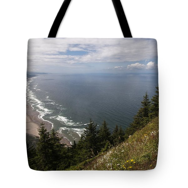 Mountain And Beach Tote Bag