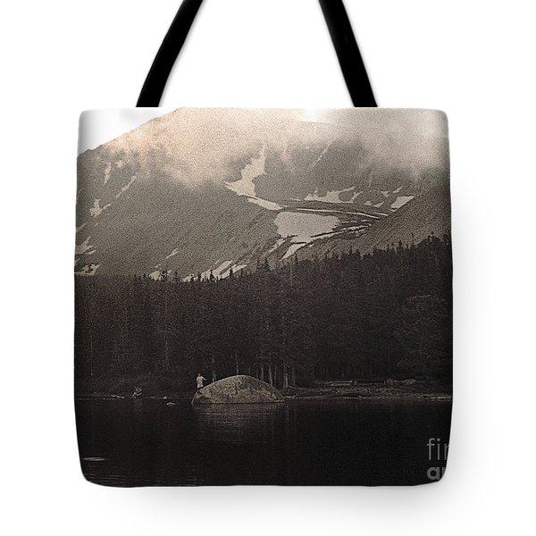 Mountain Anglers Tote Bag