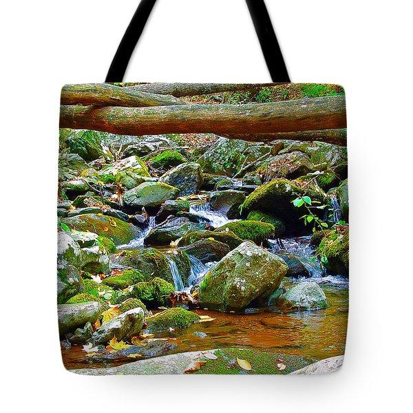 Mountain Appalachian Stream 2 Tote Bag