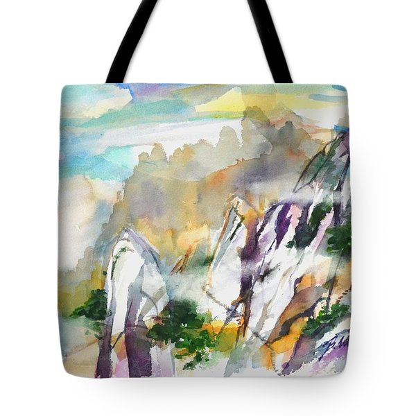 Mountain Awe #2 Tote Bag