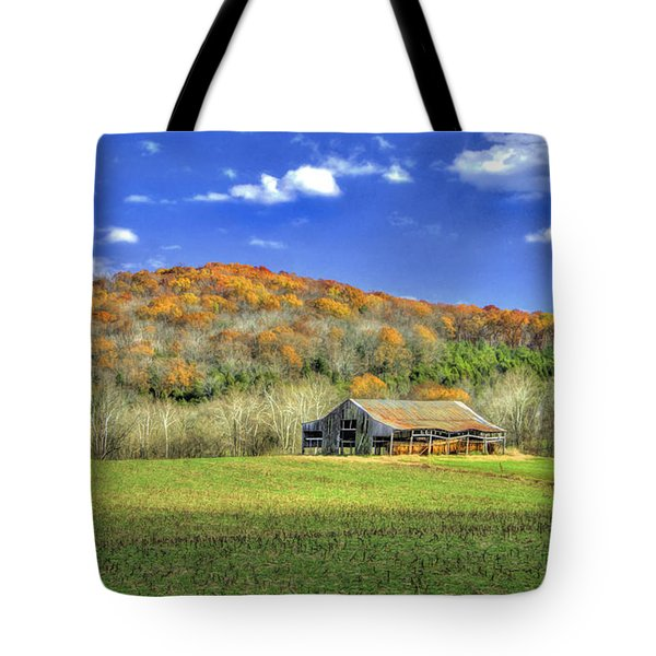 Mountain Barn Tote Bag