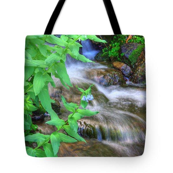 Mountain Bluebells Tote Bag