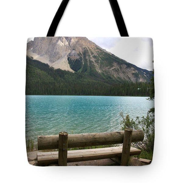 Mountain Calm Tote Bag by Catherine Alfidi