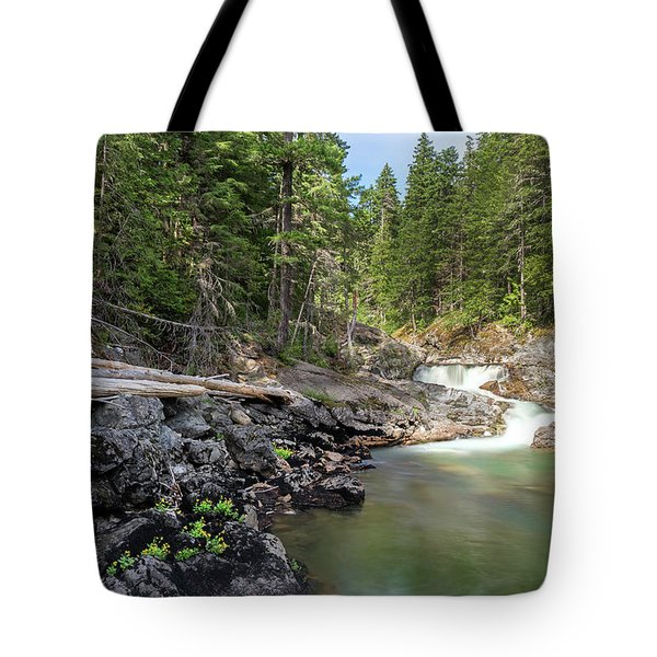 Mountain Cascade Tote Bag