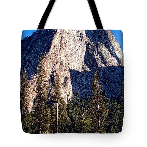 Mountain Cathedral - Yosemite Tote Bag