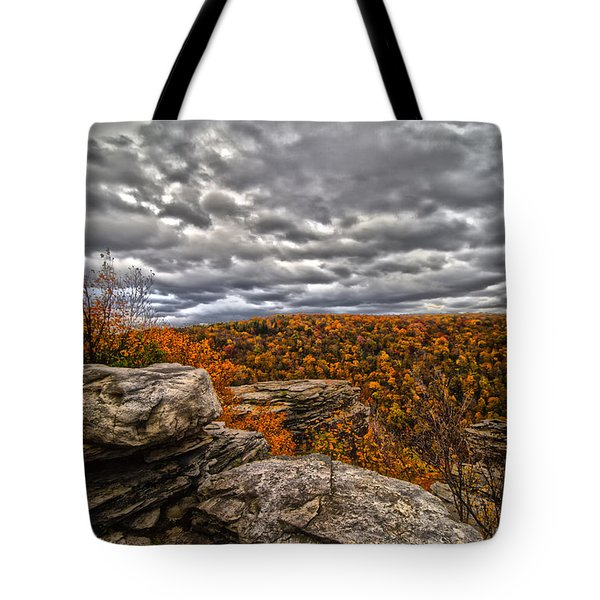 Mountain Colors Tote Bag
