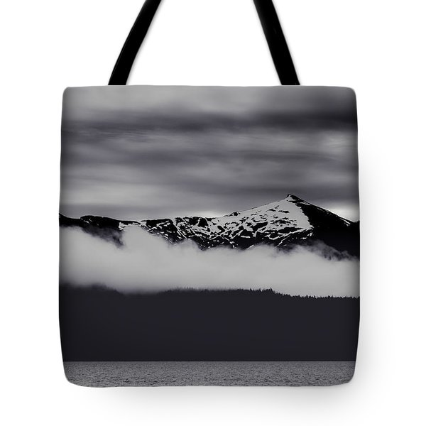 Tote Bag featuring the photograph Mountain Contrast by Jason Roberts