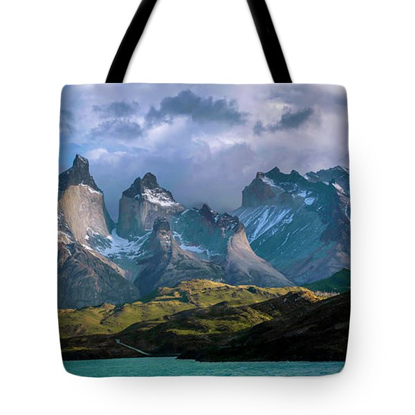 Tote Bag featuring the photograph Mountain Dream by Andrew Matwijec