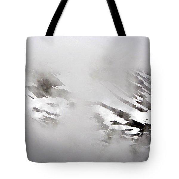 Mountain Fog - Alaska Tote Bag