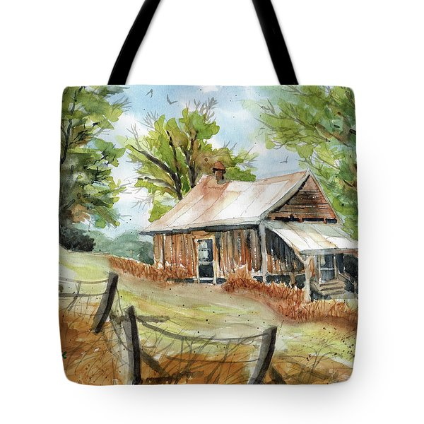 Mountain Get-away Tote Bag