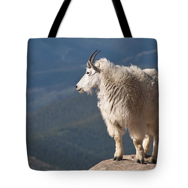 Tote Bag featuring the photograph Mountain Goat by Gary Lengyel