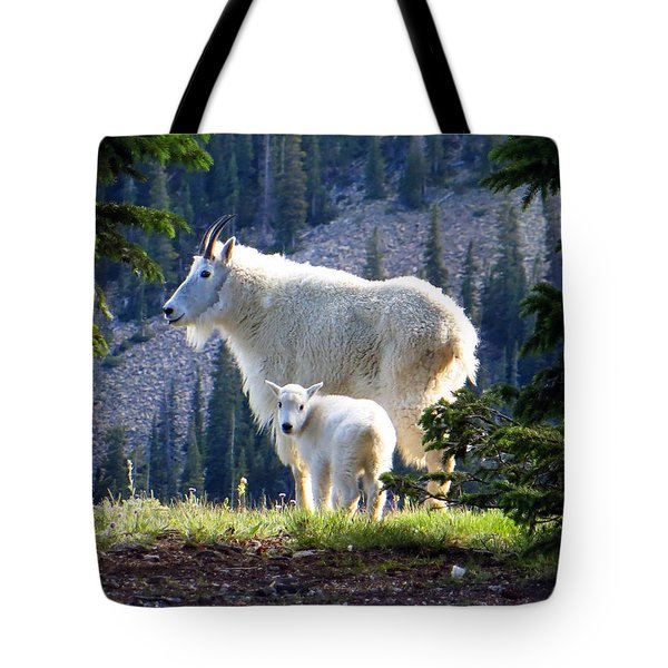 Someone To Watch Over Me Tote Bag
