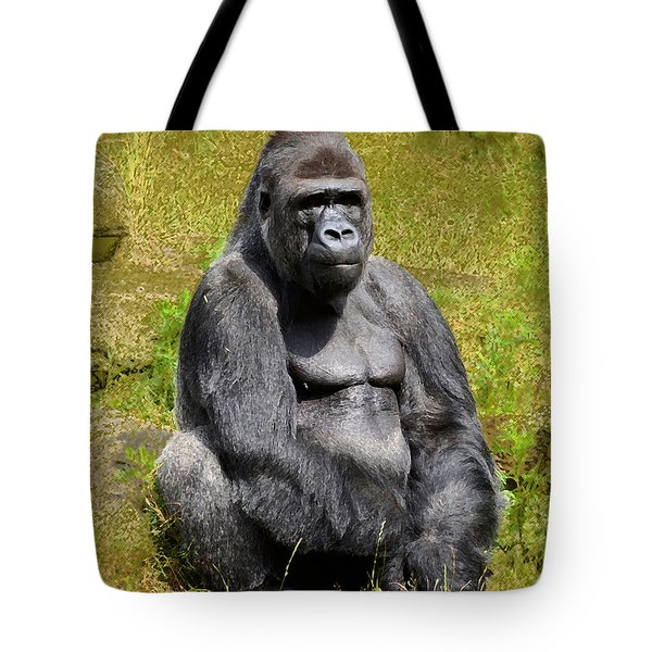 Mountain Gorilla Tote Bag
